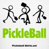Man Serving Pickleball T-Shirts - Men's T-Shirt