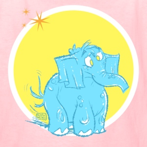Shelly the Elephant by Sather Kids' Shirts - Kids' T-Shirt
