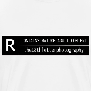 rated r - Men's Premium T-Shirt
