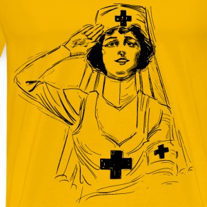 Nurse at War - Men's Premium T-Shirt