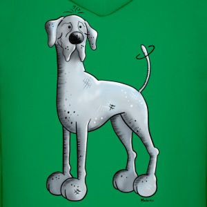 Happy Great Dane  Hoodies - Men's Hoodie