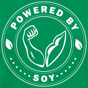 Powered by Soy - Men's Premium T-Shirt
