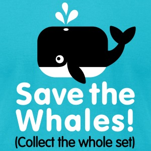Save the whales (Collect the whole set) T-Shirts - Men's T-Shirt by American Apparel