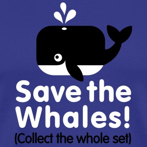 Save the whales (Collect the whole set) T-Shirts - Men's Premium T-Shirt