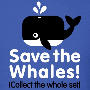 Save the whales (Collect the whole set) T-Shirts - Men's T-Shirt