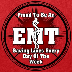 Proud To Be An EMT Tote Bag - Tote Bag