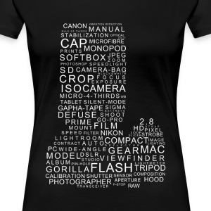 Camera words - Women's Premium T-Shirt