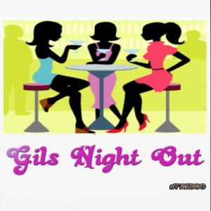girls night out Accessories - iPhone 6/6s Rubber Case