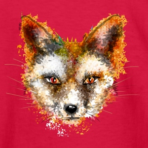 A fox's head in watercolor style Kids' Shirts - Kids' Long Sleeve T-Shirt