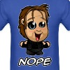 Nope 01 (Male) - Men's T-Shirt