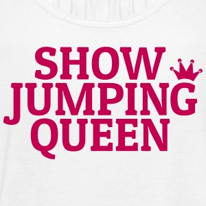 Show jumping queen Tanks - Women's Flowy Tank Top by Bella