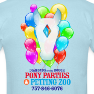 Design ~ DITR Pony Parties T-Shirt