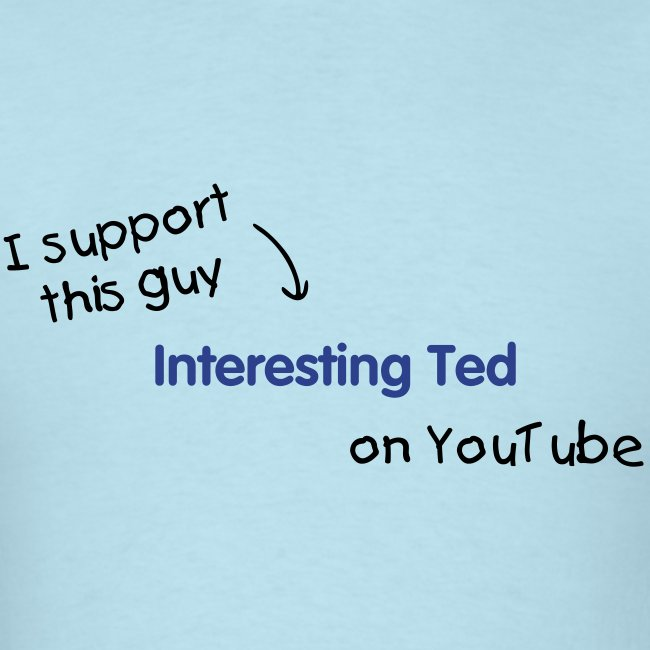 Light Blue - I support Ted