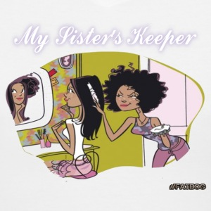 My Sister Keeper Women's T-Shirts - Women's V-Neck T-Shirt