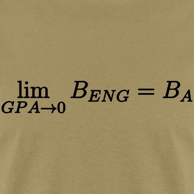 Limit GPA to zero (Engineering)
