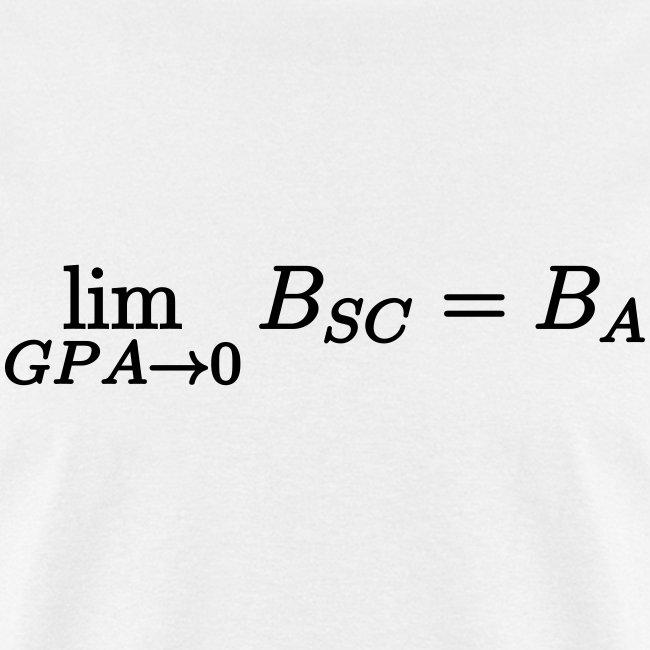 Limit GPA to zero (Science)