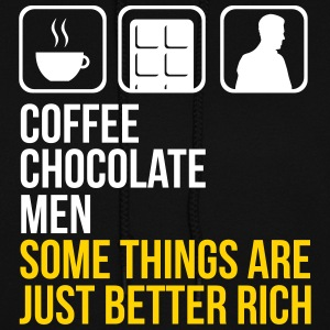 COFFEE CHOCOLATE MEN BETTER RICH HOODIE - Women's Hoodie