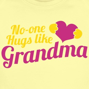 No-one HUGS like GRANDMA Baby & Toddler Shirts - Short Sleeve Baby Bodysuit
