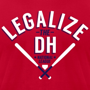 Legalize the DH (St. Louis) - Men's T-Shirt by American Apparel