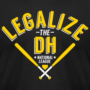 Legalize the DH (Pittsburgh) - Men's T-Shirt by American Apparel