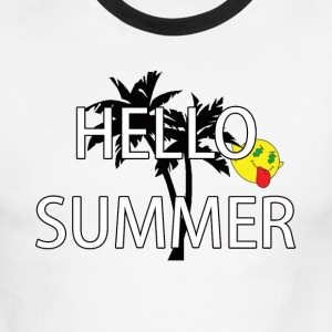 hello summer T-Shirts - Men's Ringer T-Shirt
