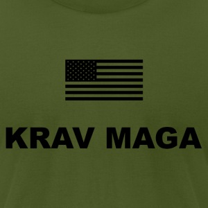 Krav Maga USA T-Shirts - Men's T-Shirt by American Apparel