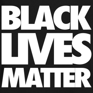 Black Lives Matter T-Shirts - Men's V-Neck T-Shirt by Canvas