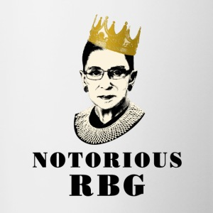 Official Notorious RBG Mugs & Drinkware - Contrast Coffee Mug