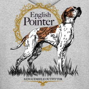 pointer on white 15 Hoodies - Men's Hoodie
