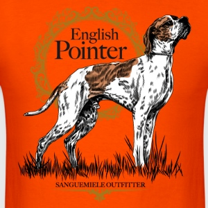 pointer on white 15 T-Shirts - Men's T-Shirt