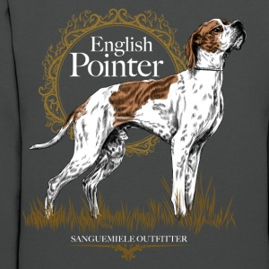pointer on black 15 Hoodies - Women's Hoodie