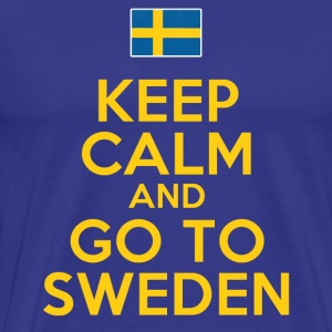 Keep Calm Go To Sweden T-Shirts - Men's Premium T-Shirt