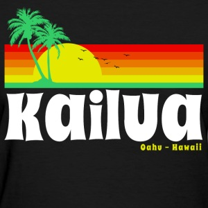 Kailua Oahu Hawaii Women's T-Shirts - Women's T-Shirt