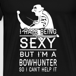 Bowhunting T-shirt - I am a bowhunter - Men's Premium T-Shirt