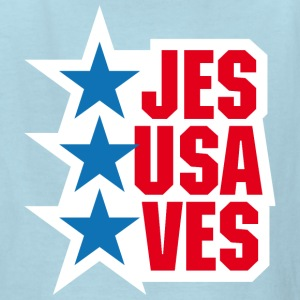 Jesus saves America - Kids' T-Shirt