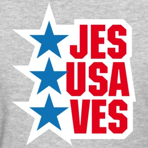 Jesus saves America - Women's T-Shirt