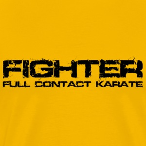 Karate Fighter Black T-Shirts - Men's Premium T-Shirt