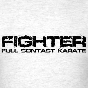 Karate Fighter Black T-Shirts - Men's T-Shirt