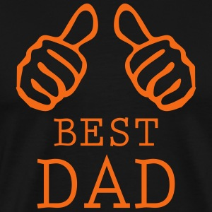 best dad T-Shirts - Men's Premium T-Shirt