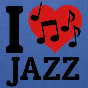I love Jazz Bags & backpacks - Tote Bag