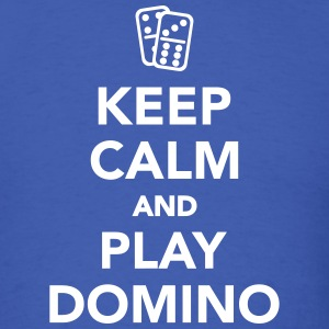 Keep calm and play Domino T-Shirts - Men's T-Shirt