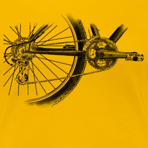bicycle Women's T-Shirts - Women's Premium T-Shirt