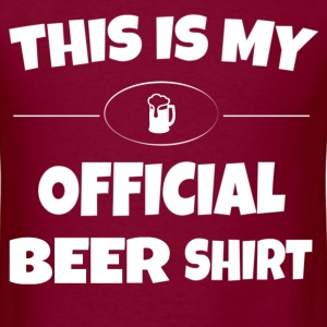 Official Beer Shirt T-Shirts - Men's T-Shirt