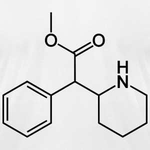 methylphenidate chemical formula T-Shirts - Men's T-Shirt by American Apparel