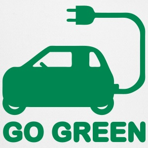 GO GREEN ~ DRIVE ELECTRIC VEHICLES Caps - Trucker Cap