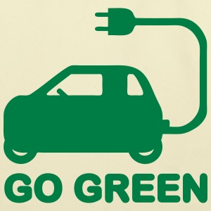GO GREEN ~ DRIVE ELECTRIC VEHICLES Bags & backpack - Eco-Friendly Cotton Tote
