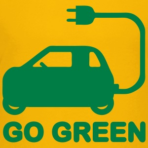 GO GREEN ~ DRIVE ELECTRIC VEHICLES Kids' Shirts - Kids' Premium T-Shirt