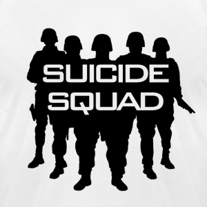 Suicide Squad T-Shirts - Men's T-Shirt by American Apparel