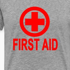 first_aid_womens_tshirts
