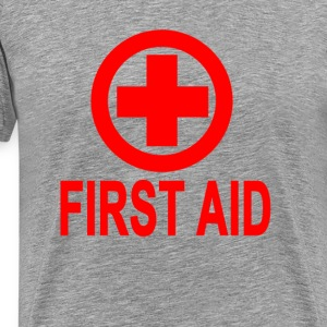first_aid_womens_tshirts - Men's Premium T-Shirt